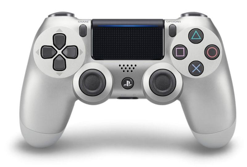 Sony PS4 DualShock 4 silver V2