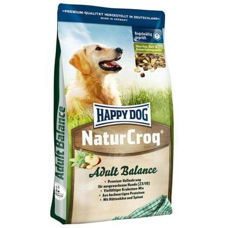 Happy Dog suha hrana za odrasle pse NaturCroq Balance, 15 kg