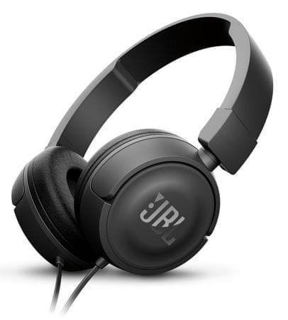JBL slušalke T450, črne