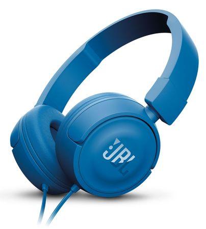 JBL slušalke T450, modre