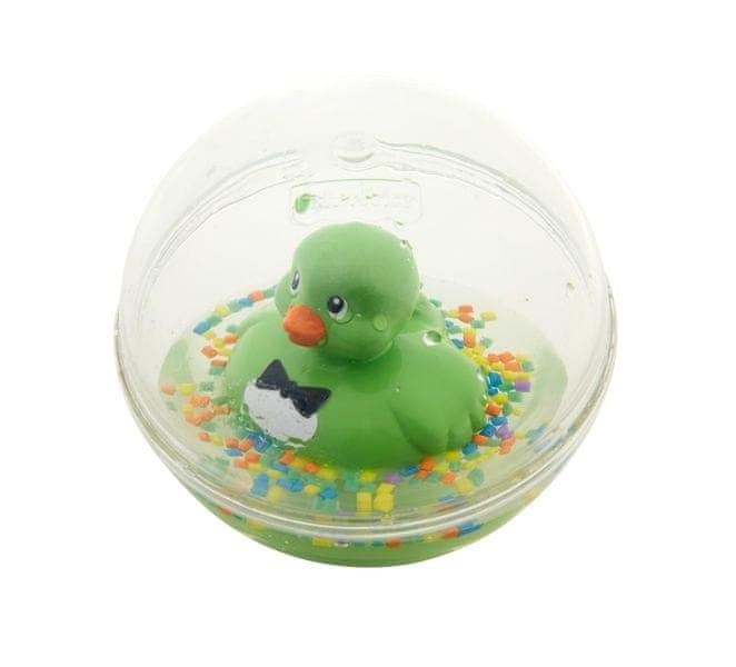 Fisher-Price Zelená kačenka v kouli