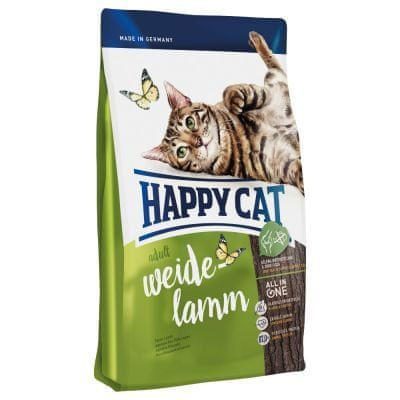 Happy Cat suha hrana za odrasle mačke Adult, pašna jagnjetina, 10 kg