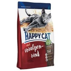 Happy Cat sucha karma dla kota Adult Voralpen-Rind 10 kg
