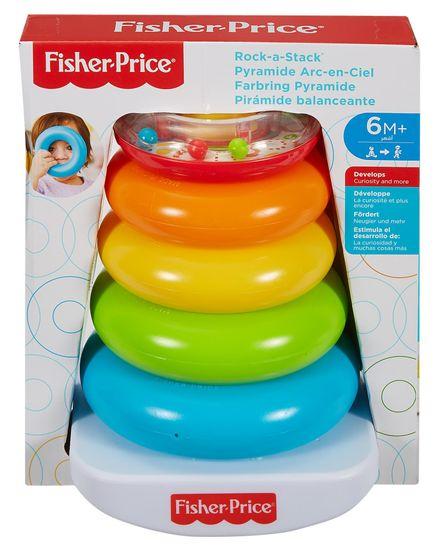 Fisher-Price Układanka pierścienie na drążku