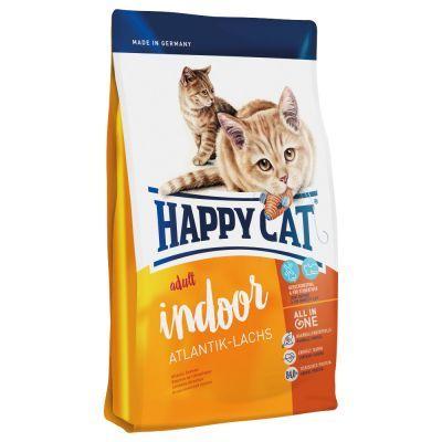 Happy Cat Indoor Atlantik-Lachs Macskaeledel, 10 kg