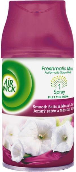 Air wick Freshmatic Max náhradní náplň Jemný satén a Měsíční lilie 250 ml