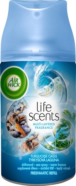 Air wick Freshmatic Max náhradní náplň Tyrkysová laguna 250 ml