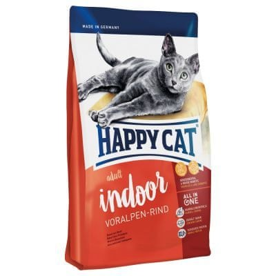 Happy Cat Indoor Voralpen-Rind 10 kg