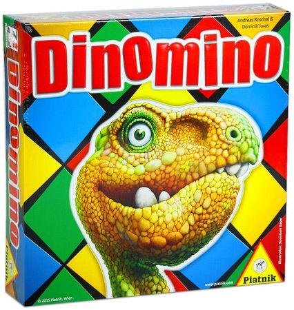 Piatnik družabna igra Dinomino
