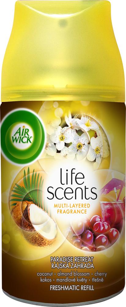 Air wick Freshmatic Refill náplň Rajská zahrada 250 ml