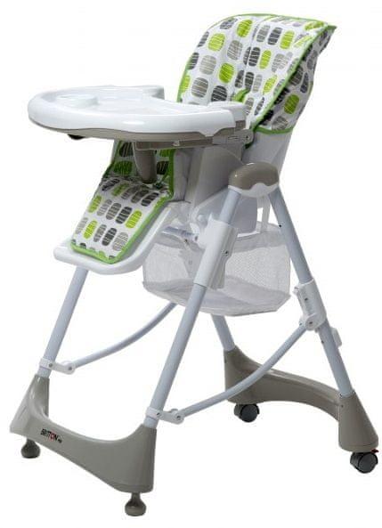 BRITTON Jídelní židlička Hip+, Zelená