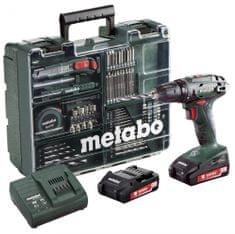 Metabo BS 18 Set 18 V Akkus fúrócsavarozó szett (602207880)