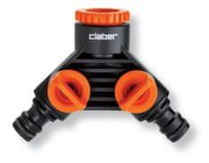 Claber priključak za vodu, dvostruki (8599)