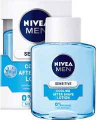 Nivea vodica po britju Sensitive, 100 ml