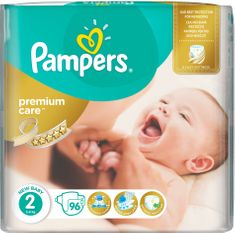 Pampers Plienky PremiumCare 2 Mini - 96 ks