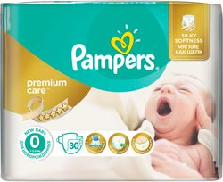 Pampers Pieluchy Premium Care 0 Newborn (do 2,5kg) - 30 szt.
