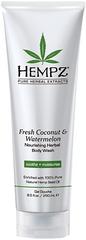 Hempz Výživný sprchový gel - Svěží kokos a meloun 250 ml