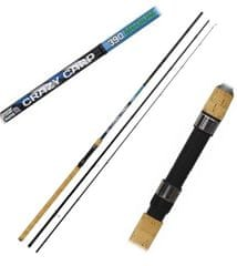 Sensas Prut Crazy Carp Waggler Medium 3,9 m 30 g