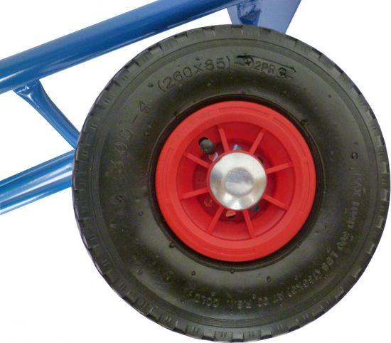 J.A.D. TOOLS Rudl pro kruhové nádoby, nafukovací kola 260mm
