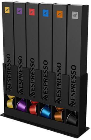 Scanpart Tavola Swiss zásobník na kapsle Nespresso černý