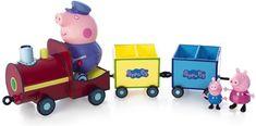 TM Toys Pociąg z figurkami Peppy Pep05034