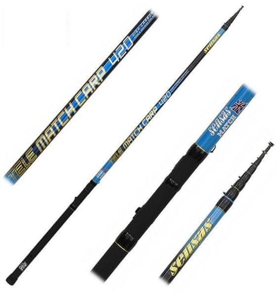 Sensas Prut Tele Match Carp Medium 3,9 m 30 g