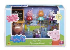 TM Toys Peppa Pig - školní třída + 5 figurek