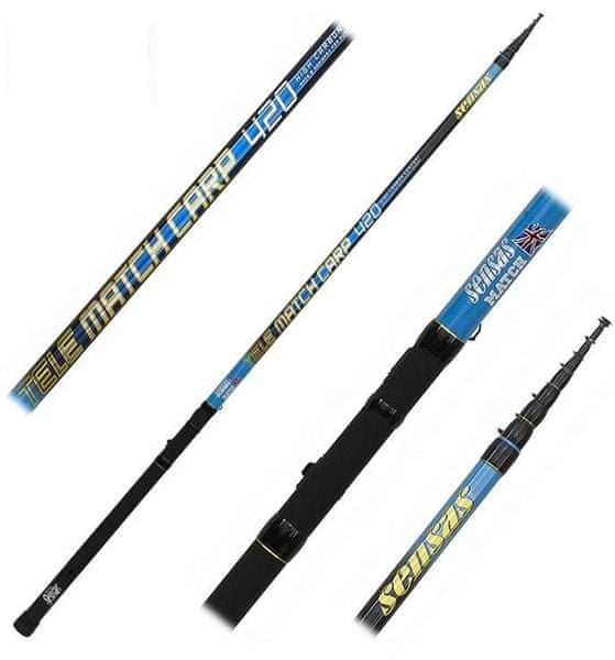 Sensas Prut Tele Match Carp Medium 4,2 m 30 g