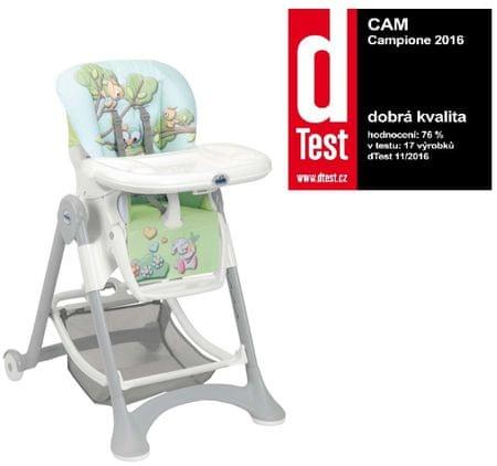 CAM Krzesełko do karmienia Campione, Col.225