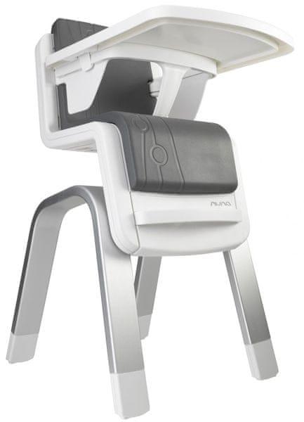 NUNA Jídelní židlička ZAAZ, carbon