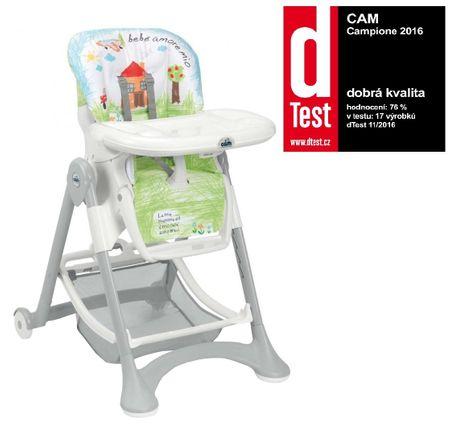 CAM Krzesełko do karmienia Campione, Col.222