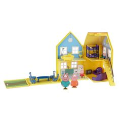 TM Toys Świnka Peppa - Domek Deluxe z figurkami