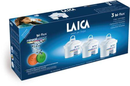 Laica filter Bi-Flux Cartridge Mineralbalance, 3 kosi