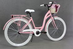 Goetze rower miejski Colours różowy - allegro