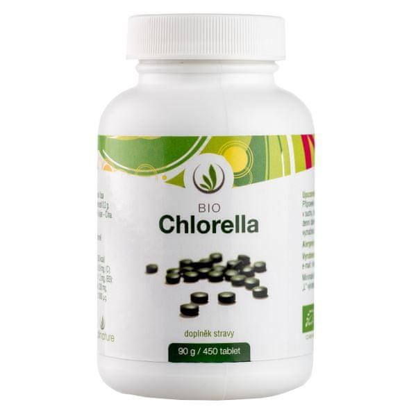 Allnature Chlorella BIO tbl.450