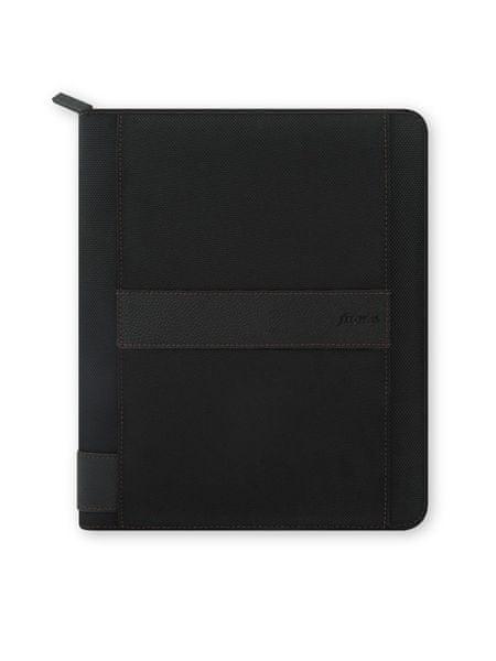 Diář s pouzdrem na iPad Air Filofax A5 Fusion černý