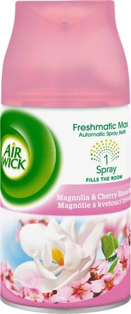 Air wick Freshmatic Max náhradní náplň Magnólie a kvetoucí třešeň 250 ml