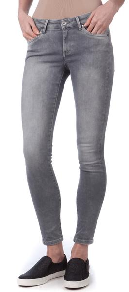 Pepe Jeans dámské jeansy Pixie 31/30 šedá