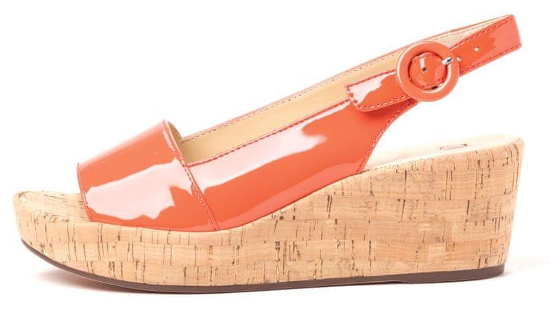 Högl dámské kožené sandály 37 lososová