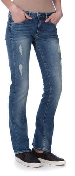 Pepe Jeans dámské jeansy Piccadilly 30/32 modrá