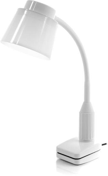 Retlux LED lampa klip RTL 190 bílá