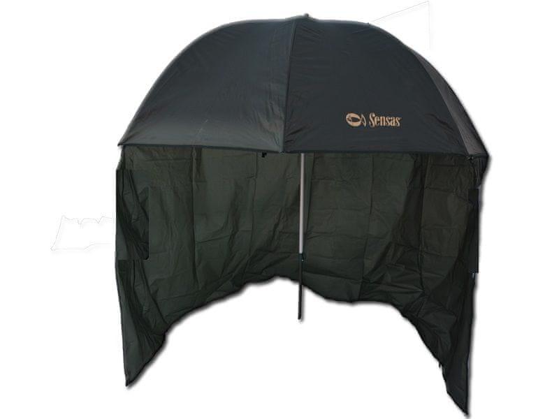 Sensas Deštník s Bočnicí Liez 2,2 m