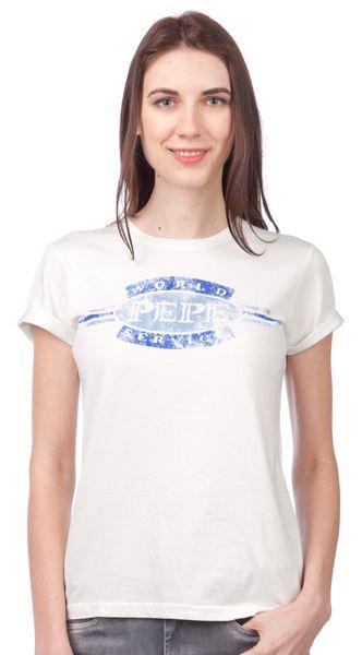 Pepe Jeans dámské tričko Erin L smetanová
