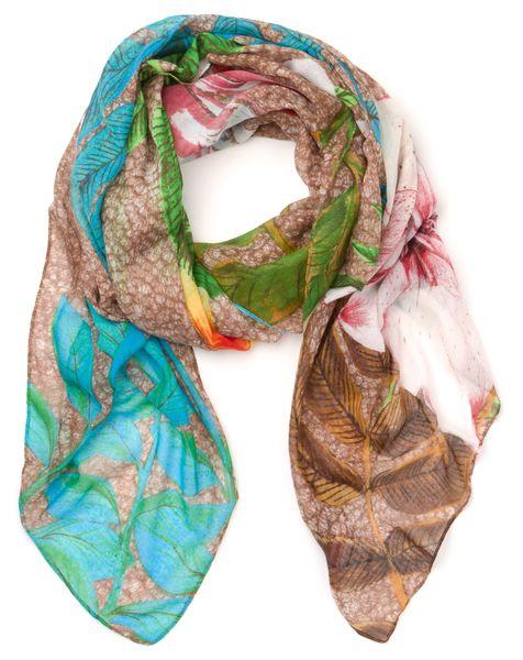 Desigual dámský vícebarevný šátek Rectangle Mogli