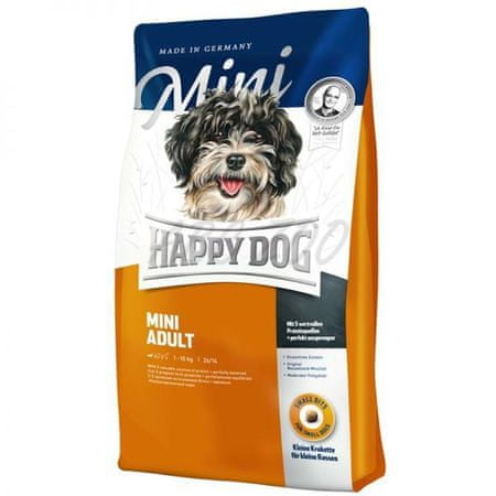 Happy Dog suha hrana za odrasle pse majhnih pasem Mini Adult, 4 kg