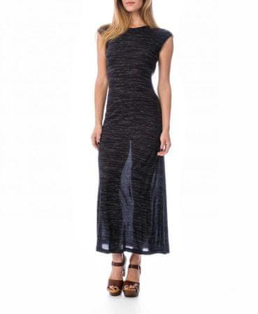Timeout dámské šaty po kotníky S tmavě modrá
