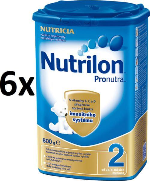 Nutrilon 2 Pronutra - 6 x 800g