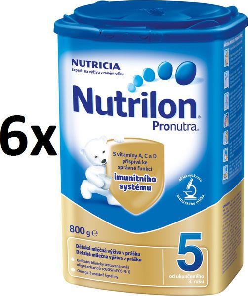 Nutrilon 5 Pronutra - 6 x 800g