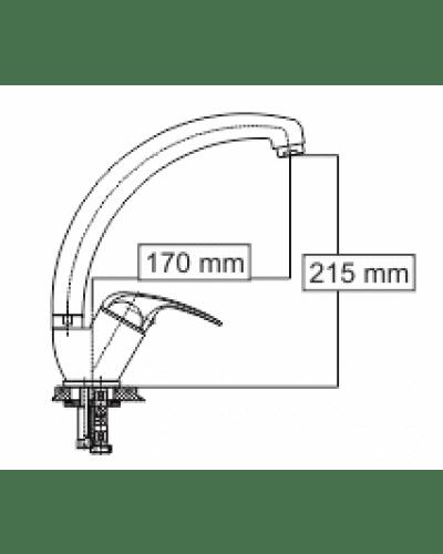 Steelberg kuhinjska armatura S605