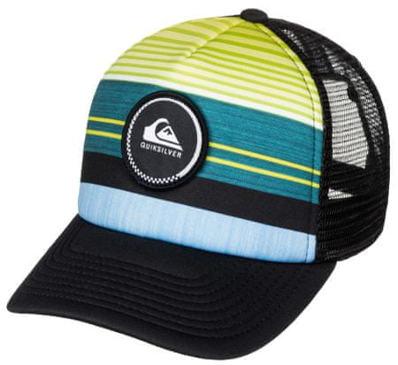 Quiksilver Striped Vee You B Hats Moroccan Blue